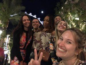 the linq com amigos e transeuntes