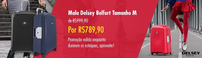 Mala Delsey Belfort Tamanho M