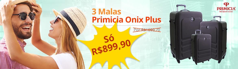 Jogo de Malas Primicia Onix Plus