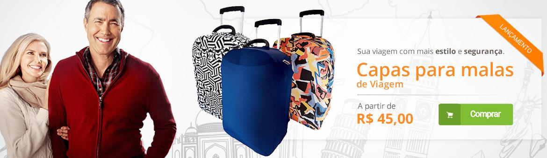 Capas para malas de viagem