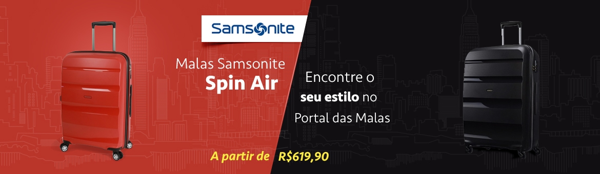 Malas Somsonite Spin Air