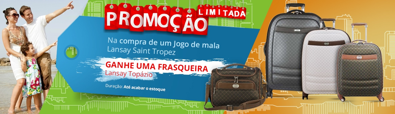 Promoção Frasqueira Lansay Topázio