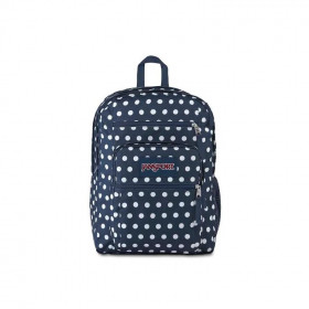 mochila-jansport-big-student-dark-denin-polka-dot