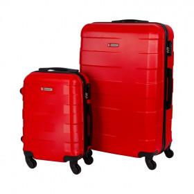 conjunto-de-malas-travelux-basel-com-duas-peças-p-e-g-vermelha