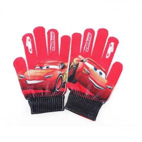 luva-de-lã-disney-carros-vermelho