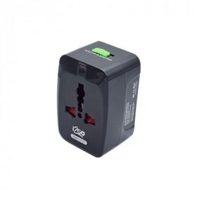 adaptador-de-tomada-i2GO-universal-preto
