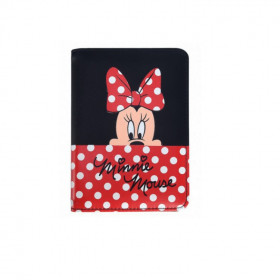 porta-passaporte-polo-king-minnie-mouse-preto