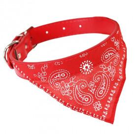 coleira-com-bandana-para-cães-45-x-2-cm-western-pet-vermelha