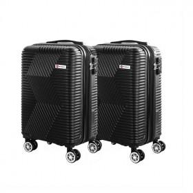 kit-mala-de-bordo-travelux-davos-com-duas-peças-preta