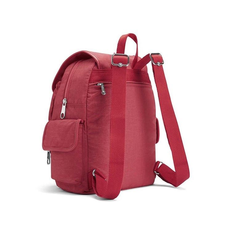 mochila-de-passeio-kipling-city-pack-s-vermelha-detalhe-traseira