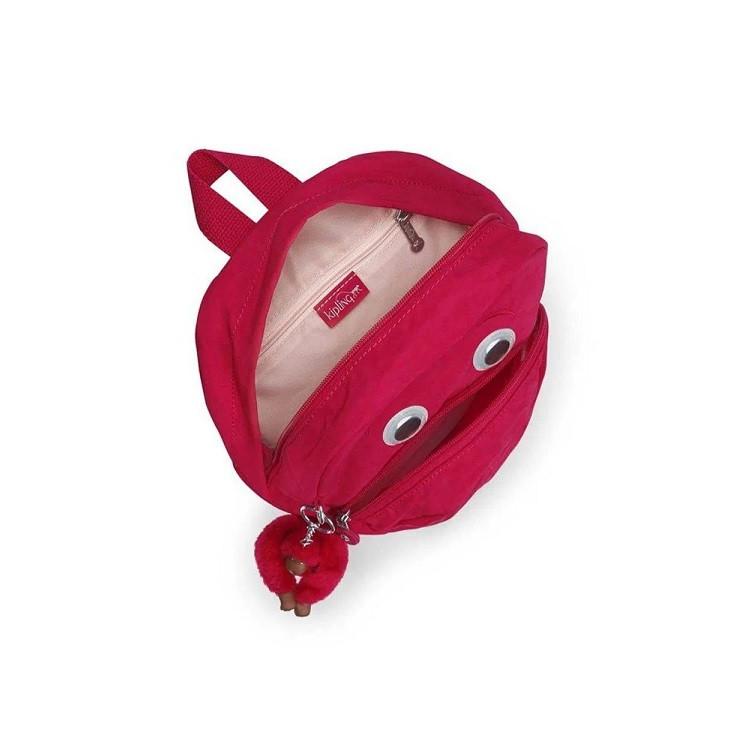mochila-kipling-faster-rosa-detalhe-aberta