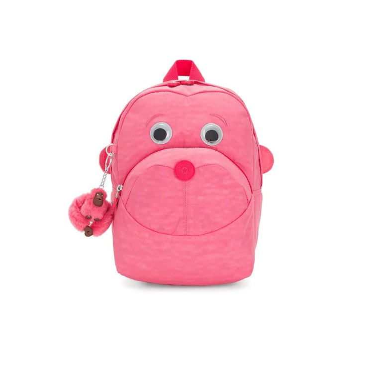 mochila-kipling-faster-rosa-claro