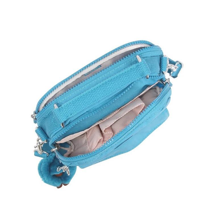 bolsa-kipling-puck-azul-aberta