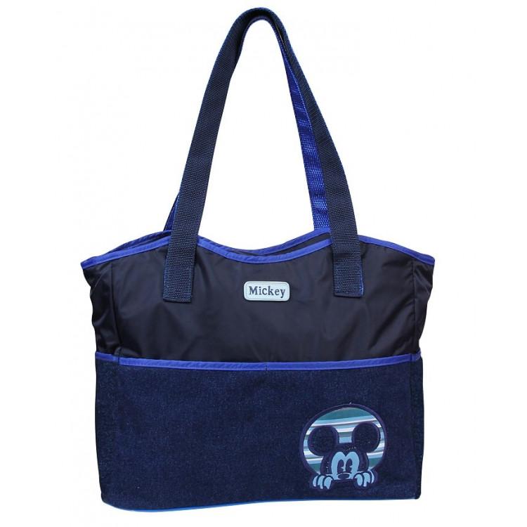 bolsa-maternidade-baby-go-disney-mickey-jeans-azul