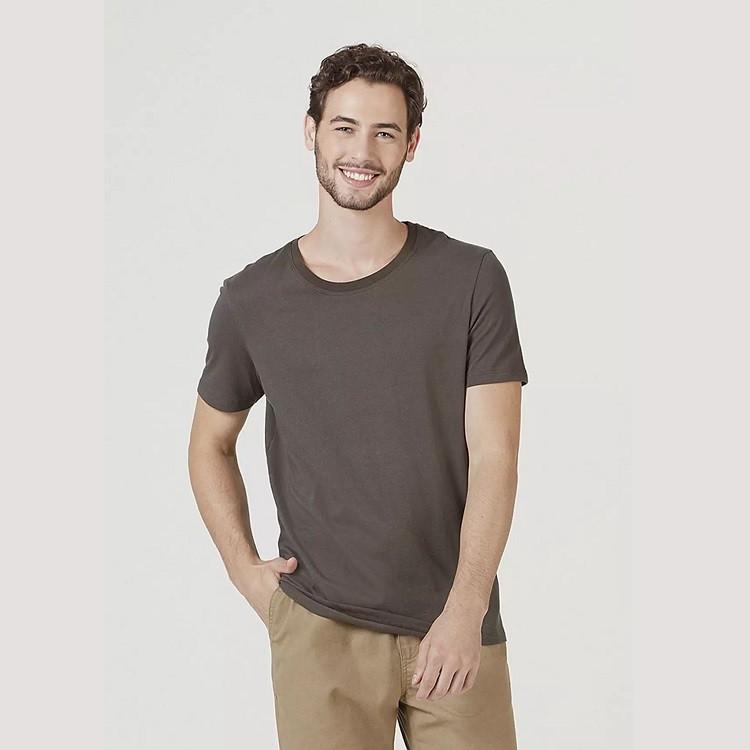 camiseta-hering-masculina-básica-mangas-curtas-world-tamanho-g-verde