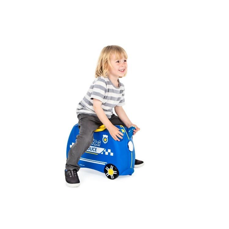 mala-trunki-carro-de-polícia-tamanho-p-azul-detalhe-criança-sentada