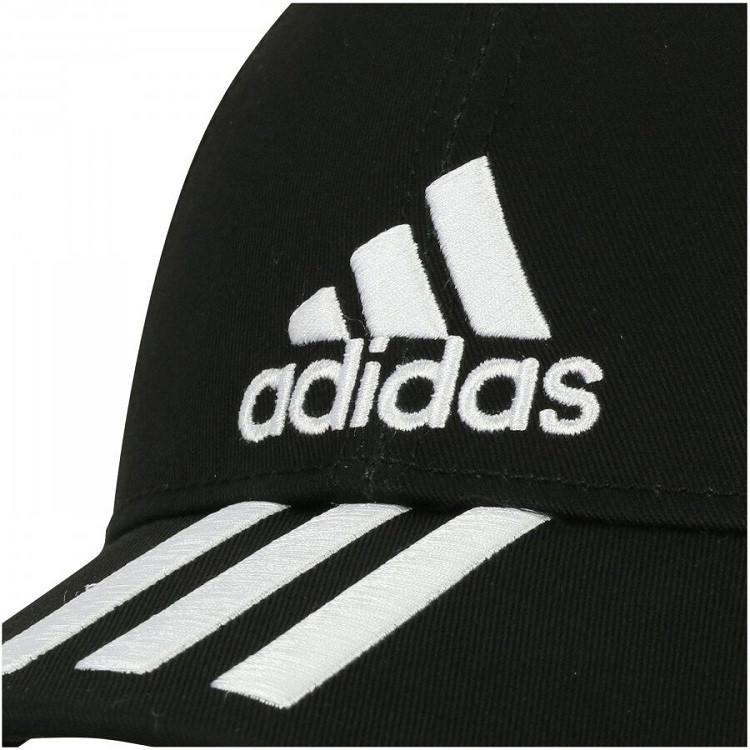 boné-adidas-aba-curva-ess-2-stripes-cotton-preta-detalhe-logo