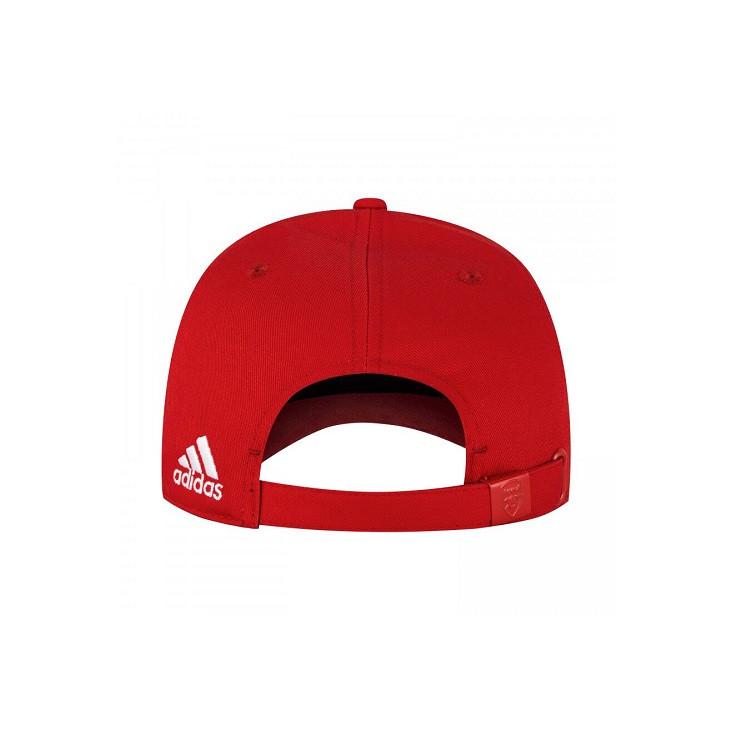 boné-adidas-aba-curva-arsenal-vermelho-detalhe-fecho