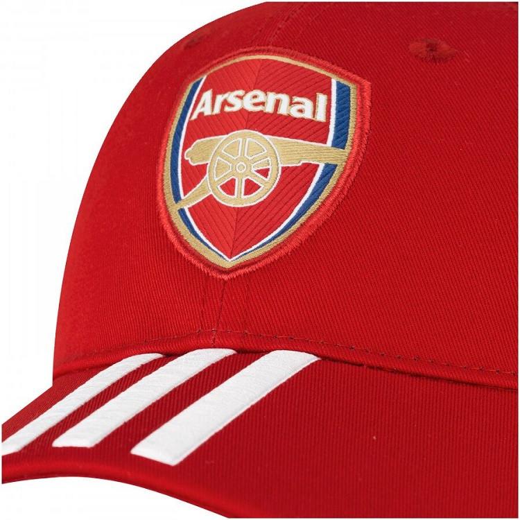 boné-adidas-aba-curva-arsenal-vermelho-detalhe-logo