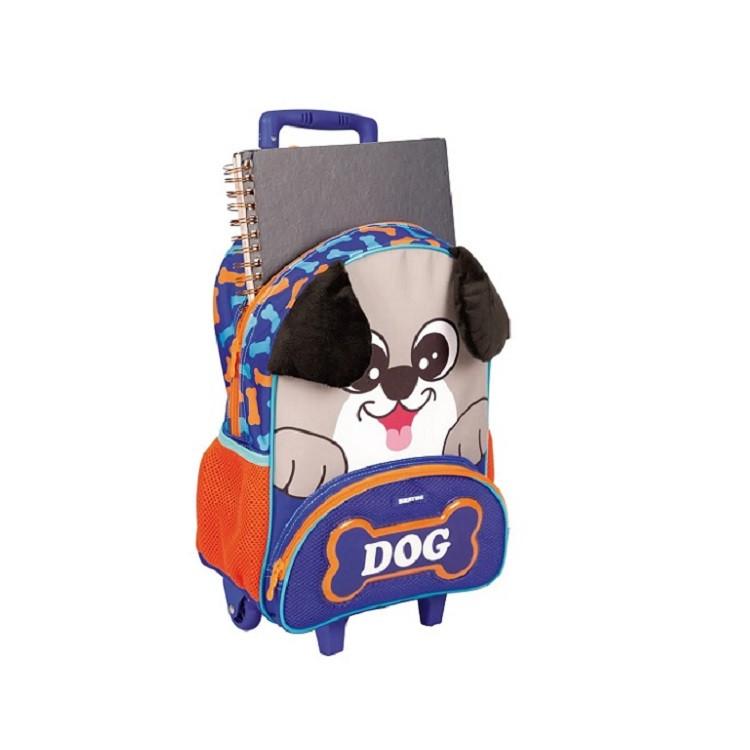 mochila-sestini-pets-x-dog-com-rodas-azul-aberta
