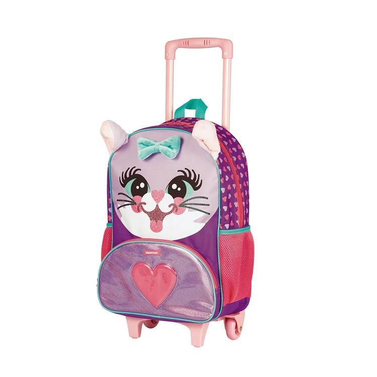 mochila-sestini-pets-x-cat-com-rodas-rosa-lateral
