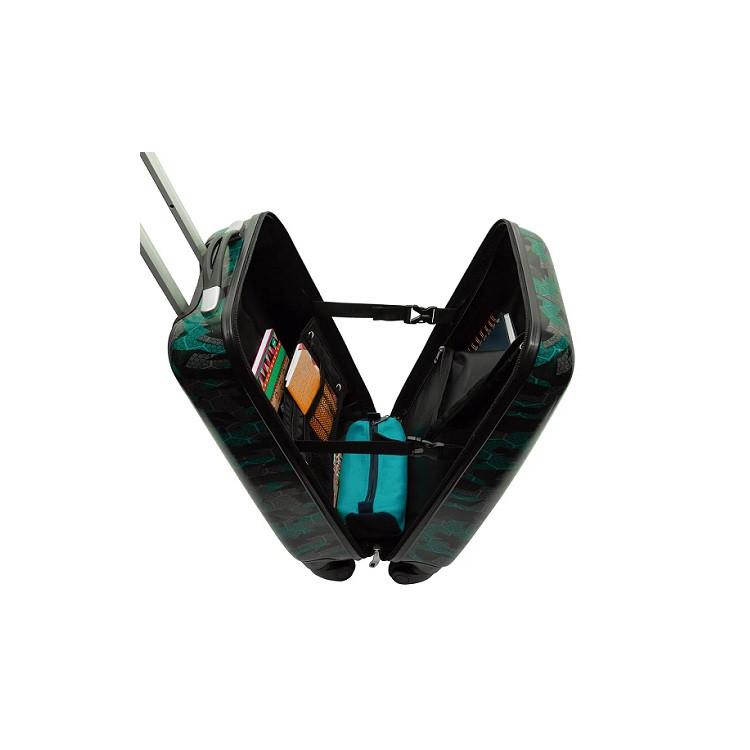 mala-sestini-hexagon-verde-aberta