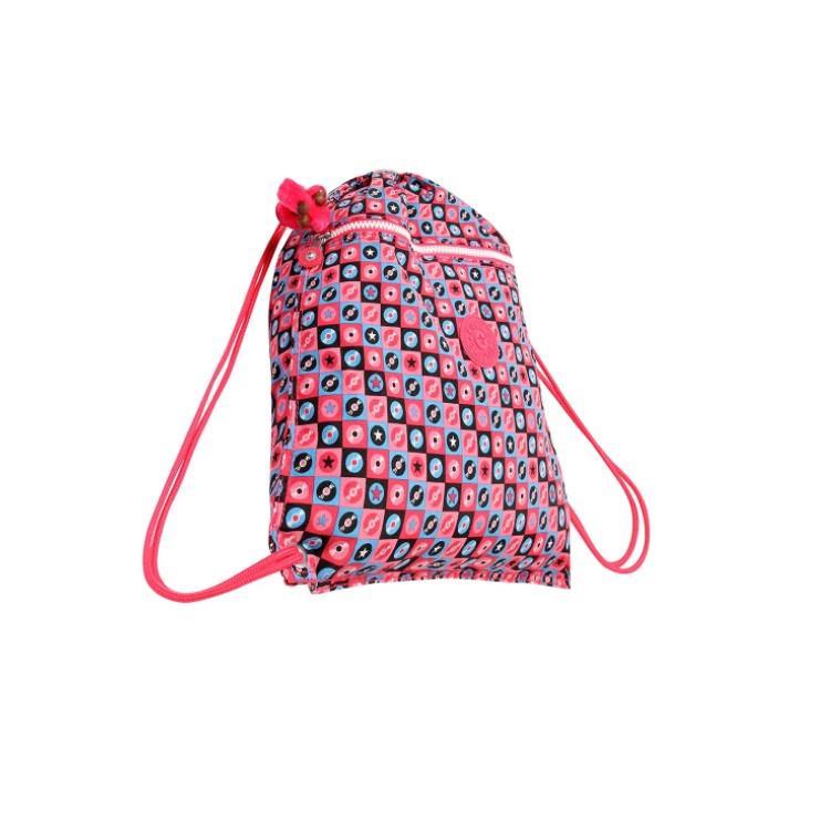 mochila-kipling-supertaboo-rosa-lateral