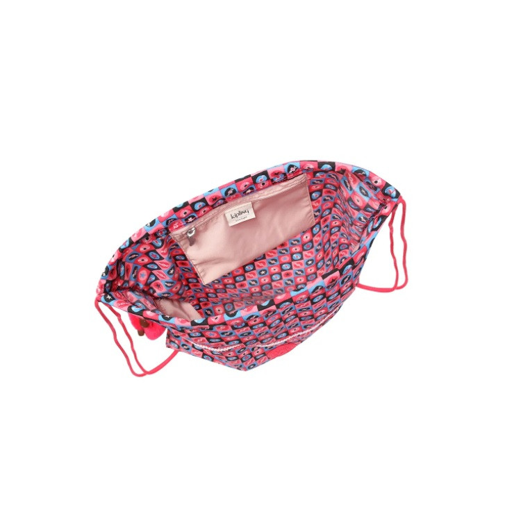 mochila-kipling-supertaboo-rosa-aberta
