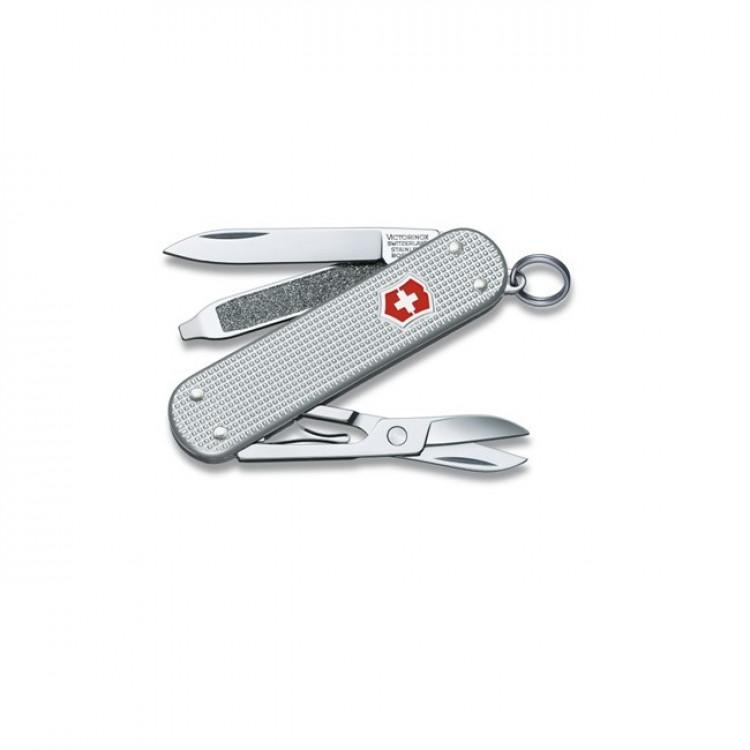 canivete-victorinox-classic-alox-5-funções-prata