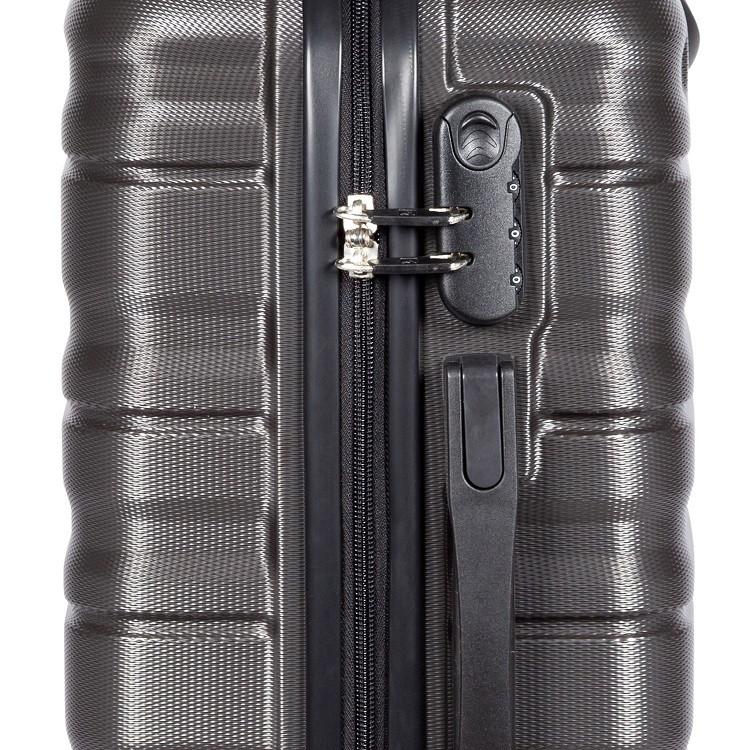 mala-travelux-geneva-tamanho-p-cinza-escuro-detalhe-cadeado