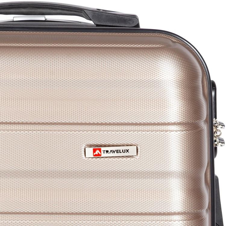 mala-travelux-geneva-tamanho-p-champagne-detalhe-logo