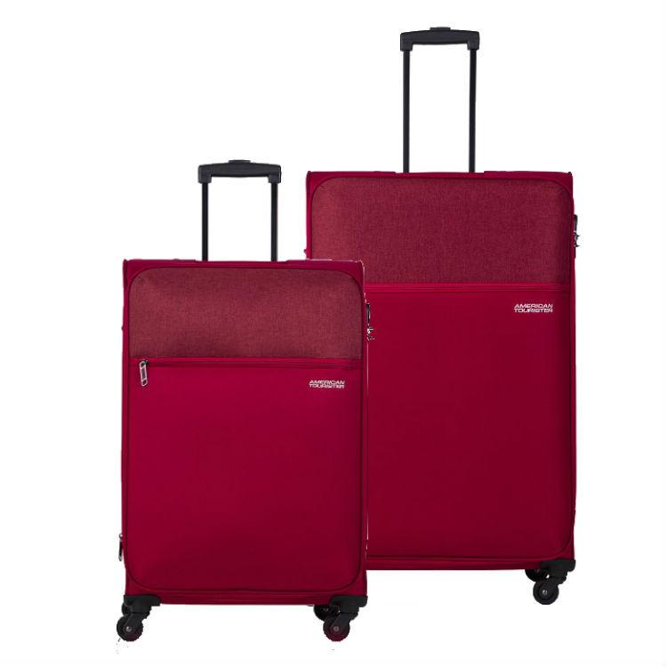 conjunto-de-malas-american-tourister-by-samsonite-frankfurt-com-duas-peças-m-e-g-vermelho