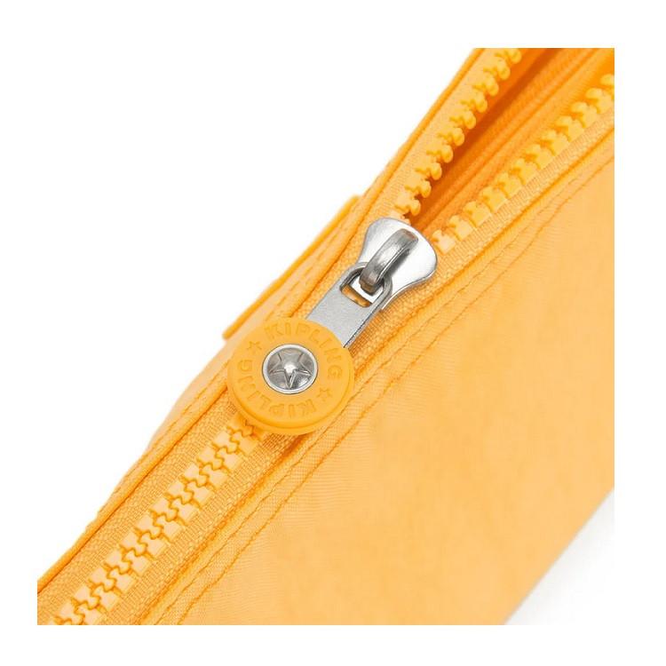 necessaire-kipling-creativity-xl-amarela-aberta-1