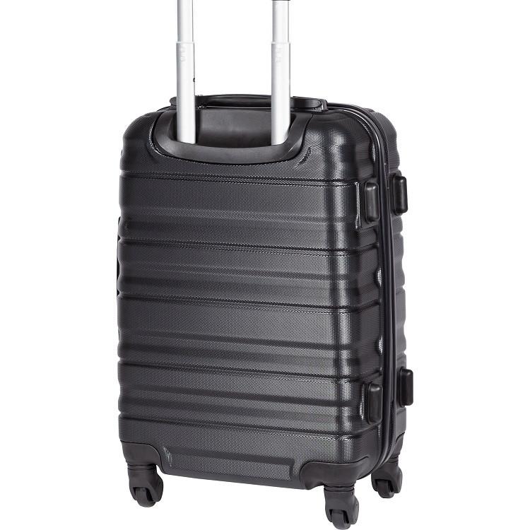 mala-travelux-geneva-tamanho-p-preta-detalhe-pés-de-apoio-lateral