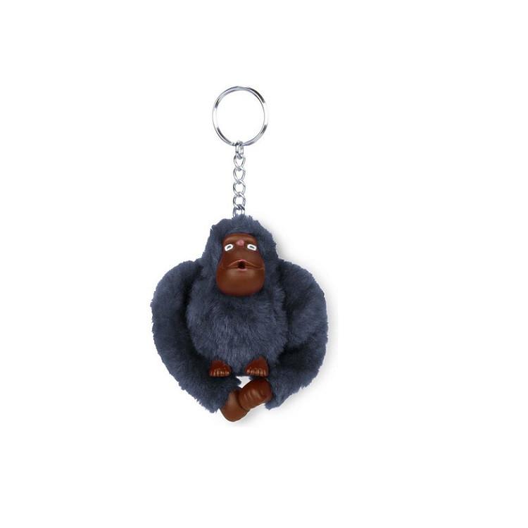 chaveiro-kipling-macaco-monkeyclip-m-cinza-escuro