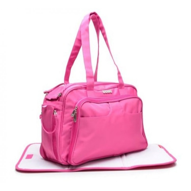 bolsa-fisher-price-diaper-bag-day-&-travel-rosa-detalhe-detalhe