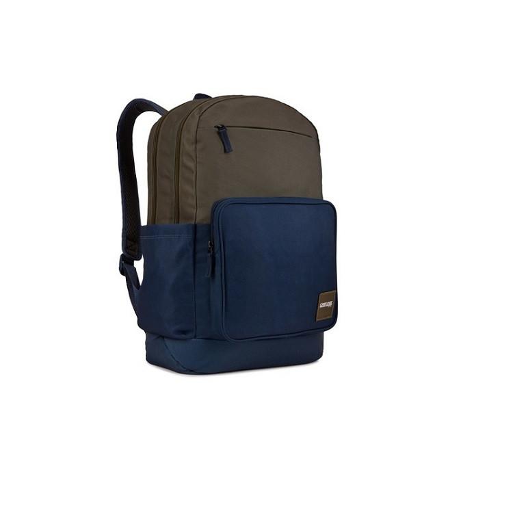 mochila-case-logic-query-backpack-azul-e-cinza