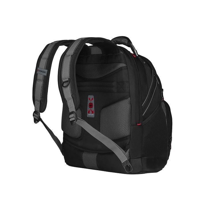 mochila-wenger-para-notebook-synergy-preto-cinza-detalhe-traseira