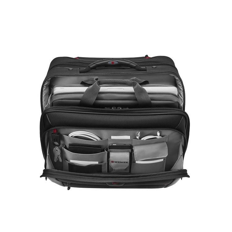 pasta-wenger-para-notebook-com-rodas-potomac-preto-detalhe-compartimentos