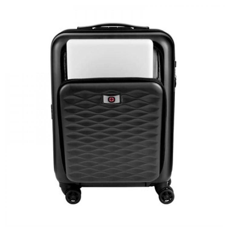 mala-wenger-lumen-hardside-tamanho-p-preta-detalhe-compartimento-notebook