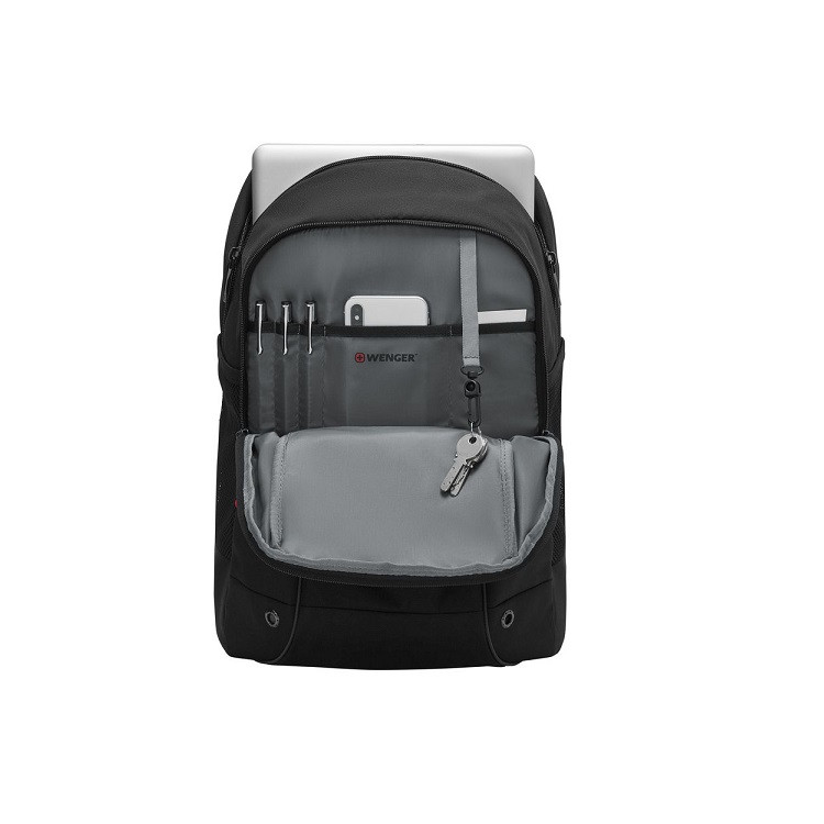 mochila-wenger-para-notebook-roadjumper-essential-preto-compartimentos