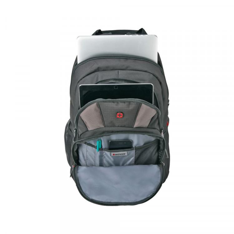 mochila-wenger-para-notebook-upload-essential-preta-compartimentos