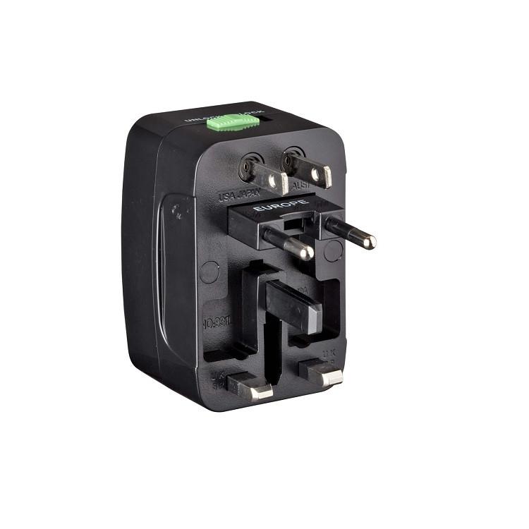 adaptador-universal-compacto-wenger-preto-tomada