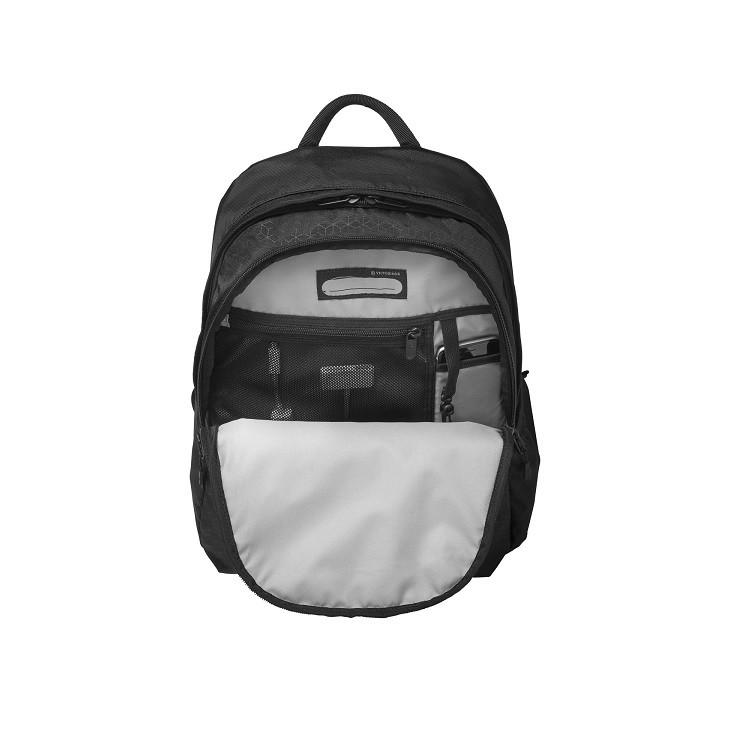 mochila-victorinox-almont-original-standard-backpack-preta-detalhe-aberta