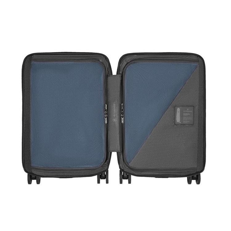 mala-victorinox-airox-frequent-flyer-hardside-carry-on-tamanho-p-azul-escuro-aberta