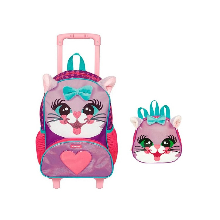 mochila-pets-x-cat-com-rodas-lancheira-pets-x-cat-sestini-roxa