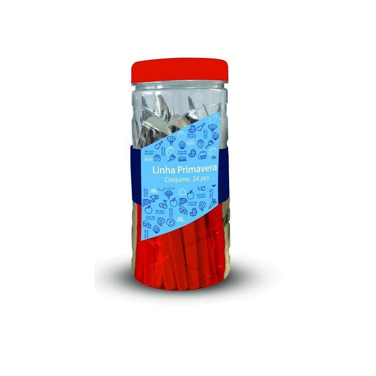 faqueiro-primavera-24-peças-vermelho