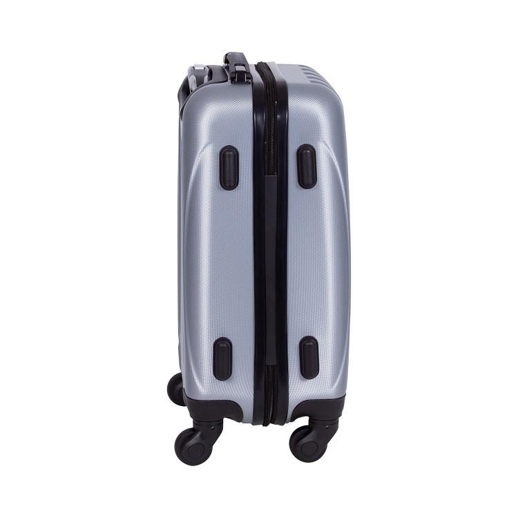 mala-travelux-baden-tamanho-m-prata-detalhe-pés-de-apoio