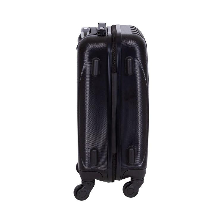 mala-travelux-baden-tamanho-p-preta-detalhe-pés-de-apoio