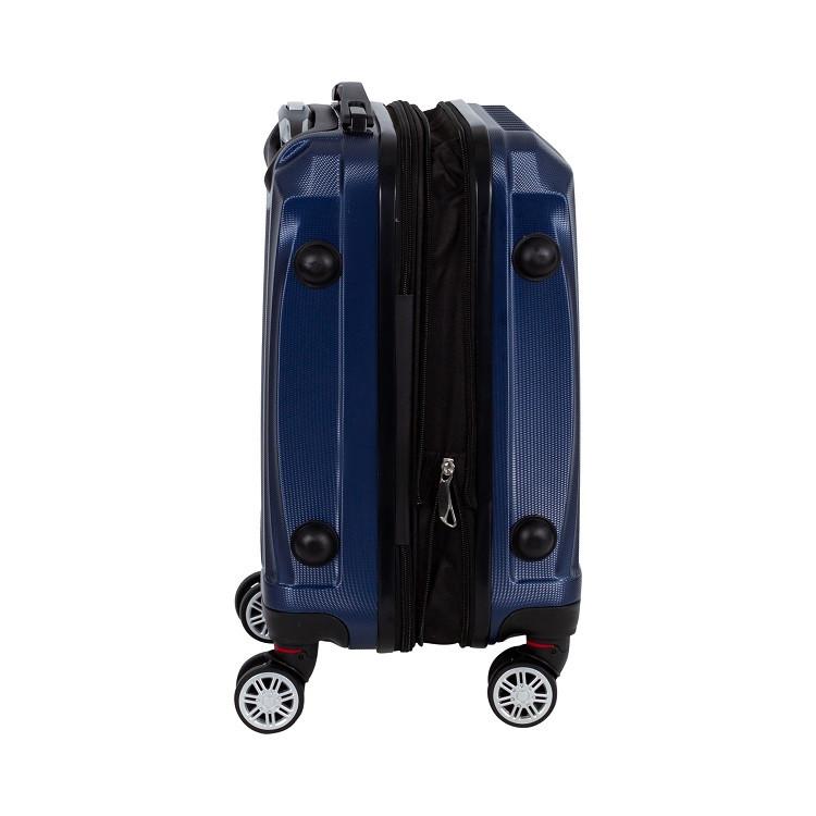 mala-travelux-engelberg-tamanho-g-azul-escuro-detalhe-expansor-e-pés-de-apoio